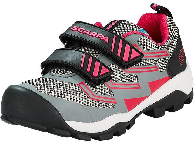 Scarpa Hook & Loop Zapatillas Niños, gris/rosa
